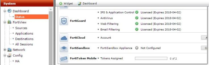 fortiguard-license